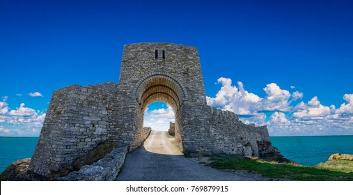 The medieval fortress of Kaliakra on the coast of Black Sea in Bulgaria