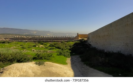 Medieval fortress near Agadir town in Morocco. Northern Africa