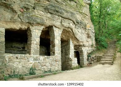 Medieval hermitage in Tihany peninsula, Hungary