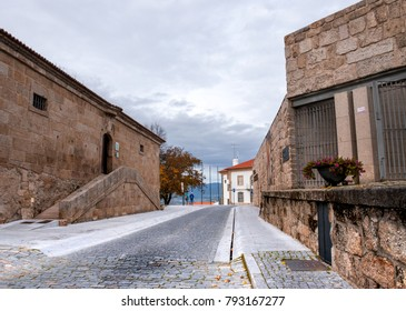 Medieval houses in Belmonte (Beautiful mountain), municipality in the district of Castelo Branco, Portugal