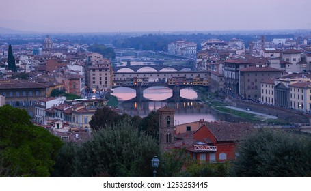 The medieval Italian city of Florence