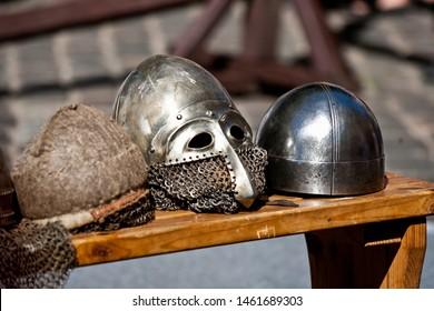 Medieval knight armor, medieval festival