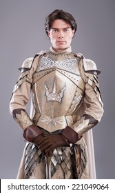 Medieval Knight. Medieval knight in armor with a sword