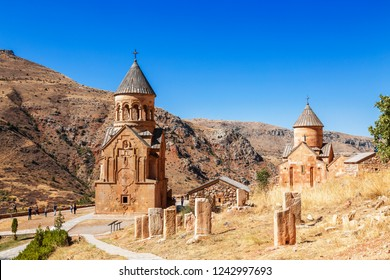 The medieval monastery of Noravank in Armenia. Was founded in 1205.