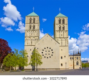 Medieval Munster Cathedral or St -Paulus-Dom in in Munster, Germany