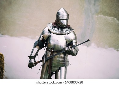 Medieval Rievocation Sword Event Knight