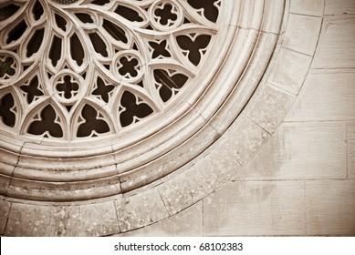 medieval rose window
