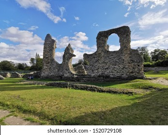 Medieval Ruins in Bury St Edmunds, Suffolk, United Kingdom