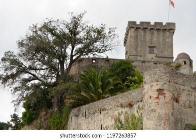The medieval San Terenzo Castle - Golfo dei Poeti-Lerici, Liguria - Italy