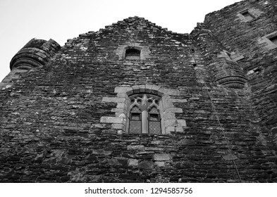 A medieval stronghold, Scotland castle