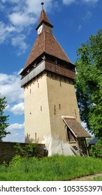 Medieval tower in Biertan, Transylvania