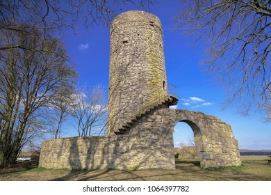 A medieval tower in Germany