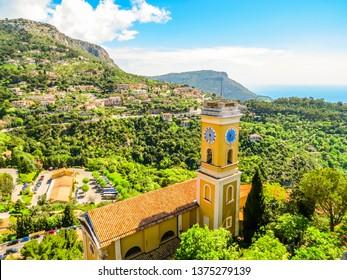 Medieval town. Eze village, Cote d'Azur, France