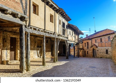 medieval town of calatañazor at soria, Spain