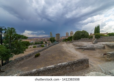 Medieval town of Trujillo in the province of Extremadura in Spain