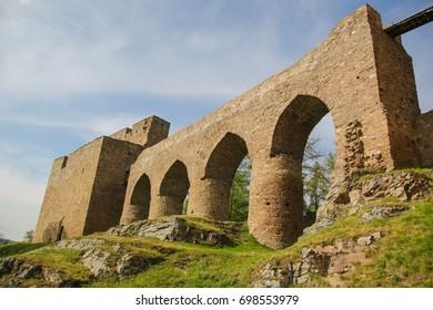 Medieval Velhartice castle