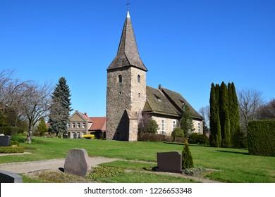 Medieval village church in Hemeringen / Lower Saxony