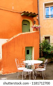 Medieval Village Cotignac Provence France, french Housing