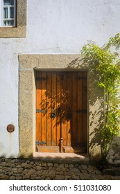 In medieval village Marvao. Alentejo. Portugal