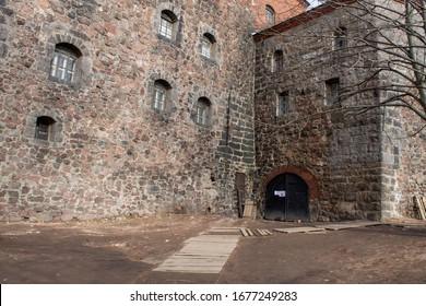 medieval Vyborg castle, Vyborg Russia