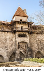 Medieval wall tower in Tallinn