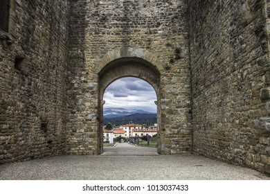 Medieval walls of Arezzo