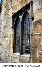 Medieval window in England