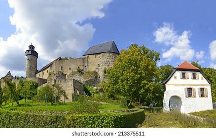 Medieval Zwernitz castle in Franconian Switzerland, Bavaria, Germany.