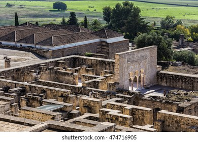 Medina Azahara. Important Muslim ruins of the Middle Ages, located on the outskirts of Cordoba. Spain