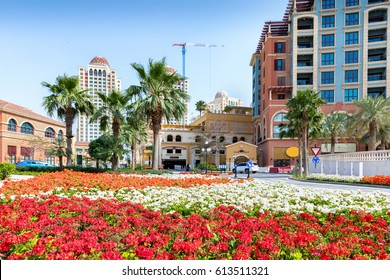 The Medina Centrale district on the Pearl in Doha, Qatar