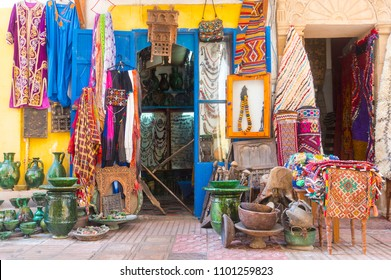 Medina District of Essaouira in Morocco