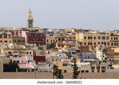 The medina of Meknes, Morocco