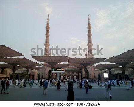 medina saudi arabia 10th september 2017 stock photo edit now