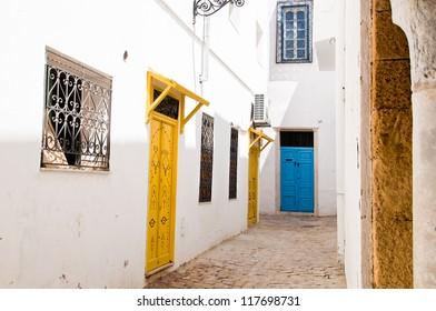Medina streets in Tunis