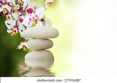 meditation with burning candle