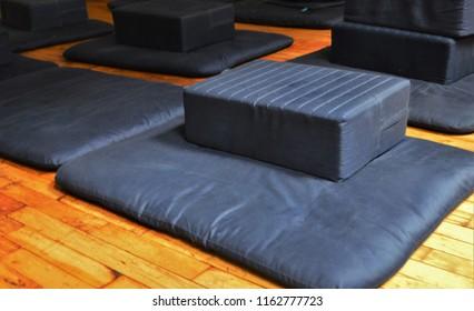 Meditation Zafu Cushion and Mat for Meditating Practice