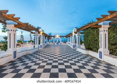 Mediterranean Balcon in Benidorm, Alicante Spain
