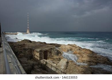 Mediterranean Coast Beirut