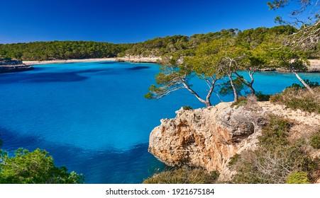 Mediterranean landscape on the Balearic Islands