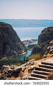 Mediterranean landscape in summer