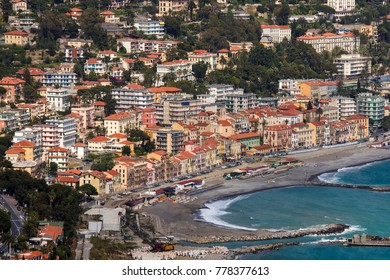 The Mediterranean resort of San Remo (Sanremo) in the province of Imperia on the northwest coast of Italy.