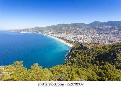 Mediterranean Sea - Beach in Alanya