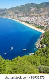 Mediterranean Sea - Beach in Alanya, Turkey