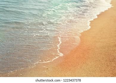 Mediterranean sea and sand