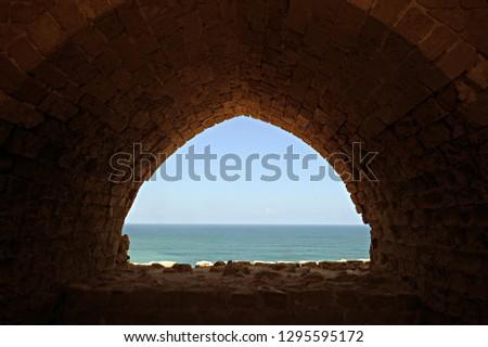 Mediterranean Sea view from