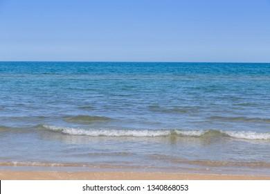 Mediterranean sea view in Denia, Valencia, Spain