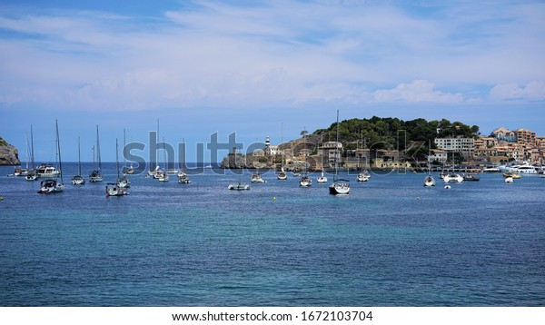 Mediterranean Sea - a view from the island of Mallorca