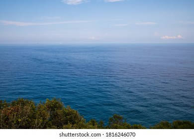 Mediterranean sea - View from north of Corsica