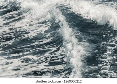 A Mediterranean sea wave