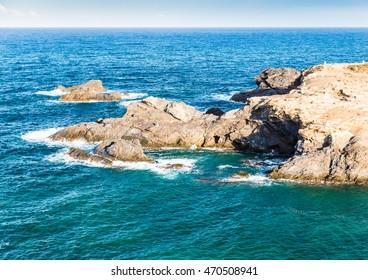 Mediterranean seascape near San Javier